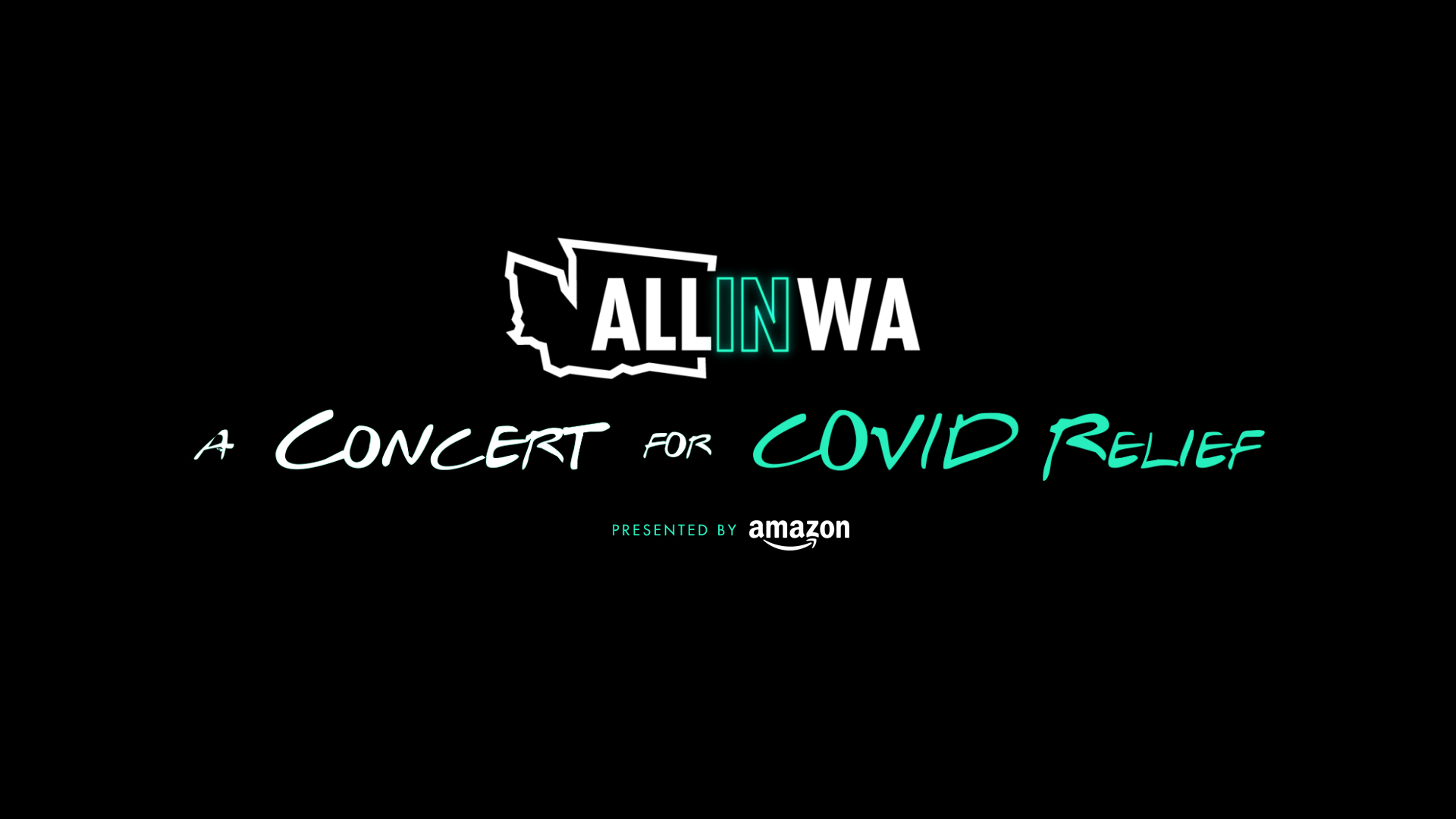 All In WA: A Concert for Covid-19 Relief - presented by Amazon