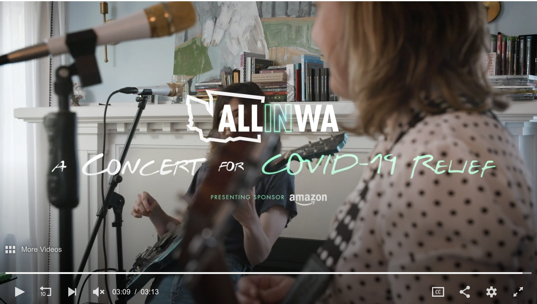 All In WA - Concert for COVID-19 Relief